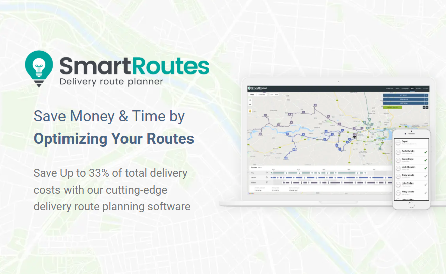 SmartRoutes: Delivery Route Planner & Route Optimization on