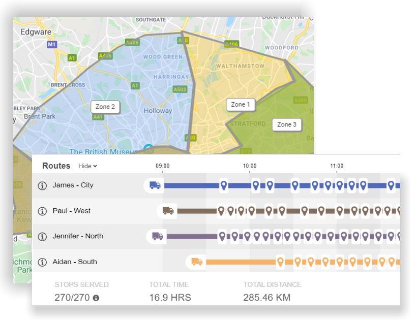 SmartRoutes Courier Route Optimizer