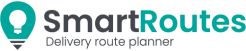 SmartRoutes Logo - industry leading delivery route planner
